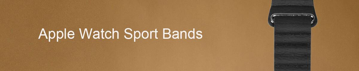 Apple Watch Sport Bands