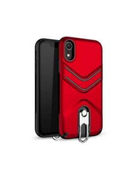 2 in 1 Shockproof PC+TPU Protective Case for iPhone