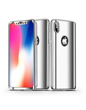 360 Degree Plating Mirror Case For iPhone X & iPhone 8 Plus/7 Plus & iPhone 8/7