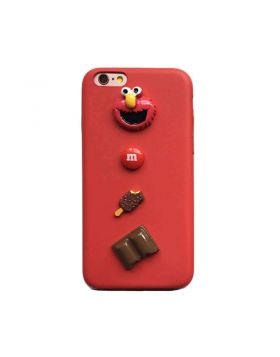 3D Cute Soft Leather Case For iPhone