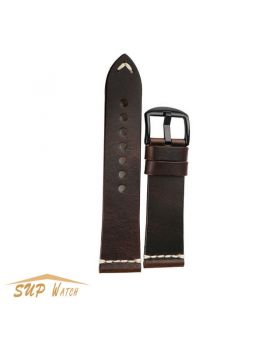 Classical Genuine Leather Watch Band