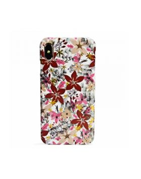 Soft Silicone Slim Case With Flower Floral Pattern for iPhone Xs Max