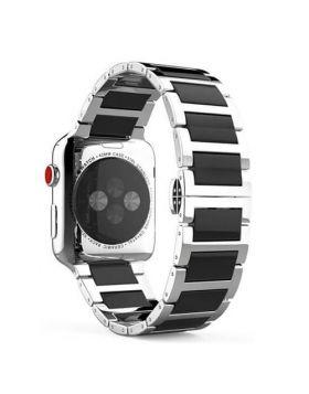 Apple Watch Stainless Steel Ceramics Link Bracelet