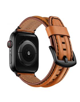 Biconvex Leather Band for Apple Watch