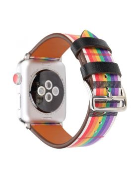 Classic Leather Watch Bands For Apple Watch Series 5/4/3/2/1