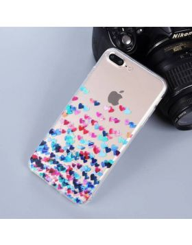 Cute Soft TPU iPhone Case - Colorful