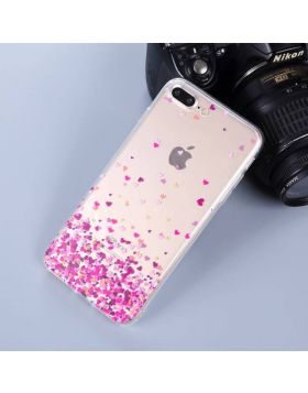 Cute Soft TPU iPhone Case - Pink