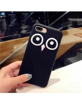 Fashion  Owl Soft Silica Gel iPhone Case
