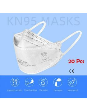 Flying Fish Shape 5-Layer KN95 Face Mask
