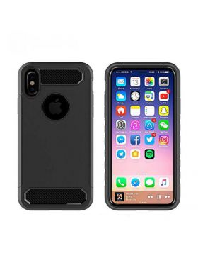 Hybrid Rugged Shock-Proof Armor Phone Protective Case for iPhone X