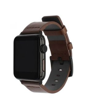 Italian Oily Leather Apple Watch Band 38mm 40mm 42mm 44mm