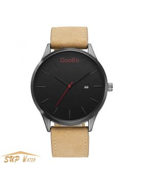 Men's Leather Sport Watch