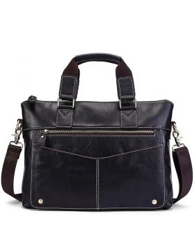 Men's Casual Style Leather Business Briefcase