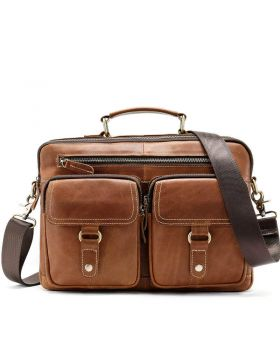 Men's Fashion Genuine Leather Shoulder Bag