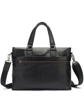 Men's Fashion Trend Leather Business Briefcase