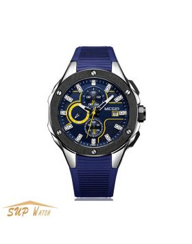 Men's Chronograph Sport Round Analogue Quartz Wrist Watch