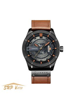 Men's Creative Leather Strap WristWatch