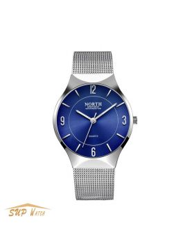 Men's Minimalism Thin Slim Wristwatch