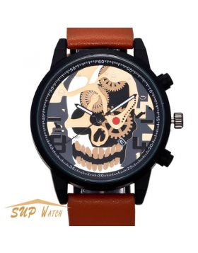 Men's Unique Skull Design Watch
