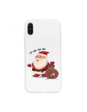 Merry Christmas Style iPhone Xs Max & Xs & X & XR Liquid Silicone Case