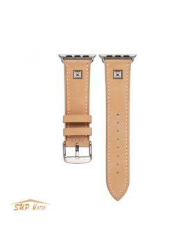 New Arrival Genuine Leather Watch Band for Apple Watch Series 1 2 3