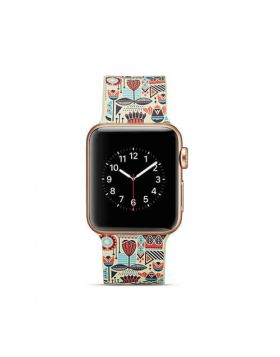 New Printing Silicone Sport Band For Apple Watch Series 4/3/2/1