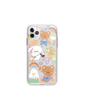 Rainbow Bear Clear Case for iPhone 11 Pro & iPhone 11 Pro Max