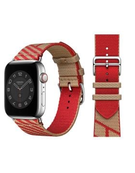 Nylon Braided Jumping Single Tour Band for Apple Watch