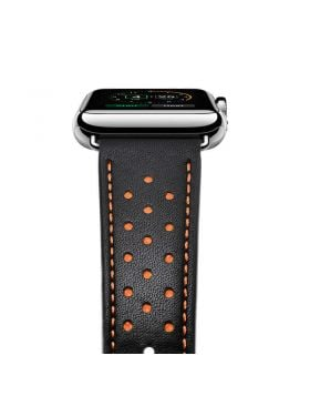 Stylish Genuine Leather Watch Band For Apple Watch Series 4/3/2/1