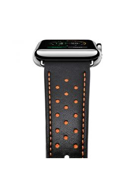 Stylish Genuine Leather Watch Band For Apple Watch Series 5/4/3/2/1