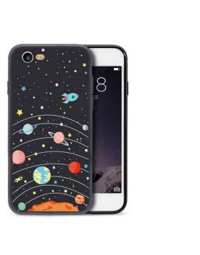 Ultra Thin Starry Sky Silicone iPhone Case
