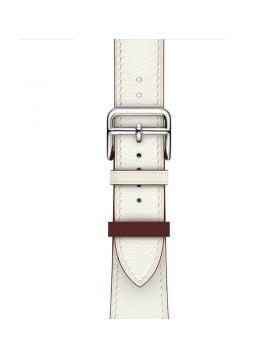 White Single Tour Apple Watch Leather Bands