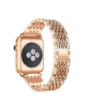 Women Diamond Bracelet Bands for Apple Watch Series 5/4/3/2/1