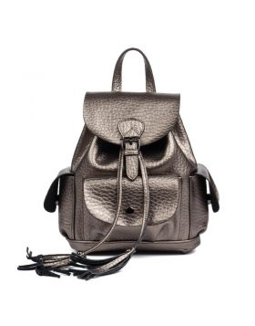 Women Fashion Genuine Leather Sport Backpack