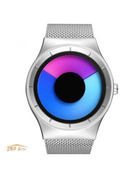 Women Fashion Stainless Steel Creative Wrist Watch