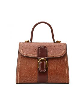 Women's Vintage Genuine Leather Shoulder Handbag