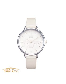 Women's Creative Bee Dial Leather Watch