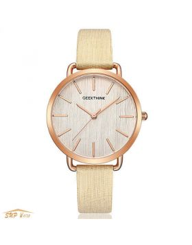 women's  Leather Dress  watch