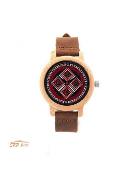 Wood Women Wrist Watch