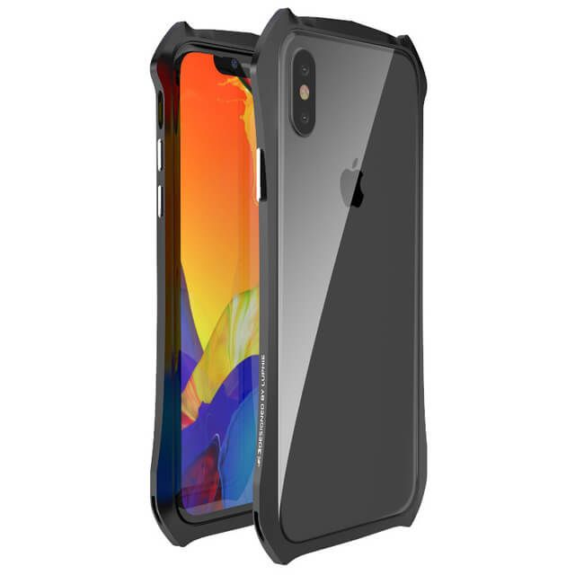 timeless design 02a83 bdef9 Cool Aluminum Metal Bumper Case For iphone X