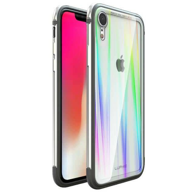 finest selection 81e85 2b0c3 Ultra-thin Tempered Glass Clear Case For iPhone XR & iPholne X & iPhone Xs  & iPhone Xs Max