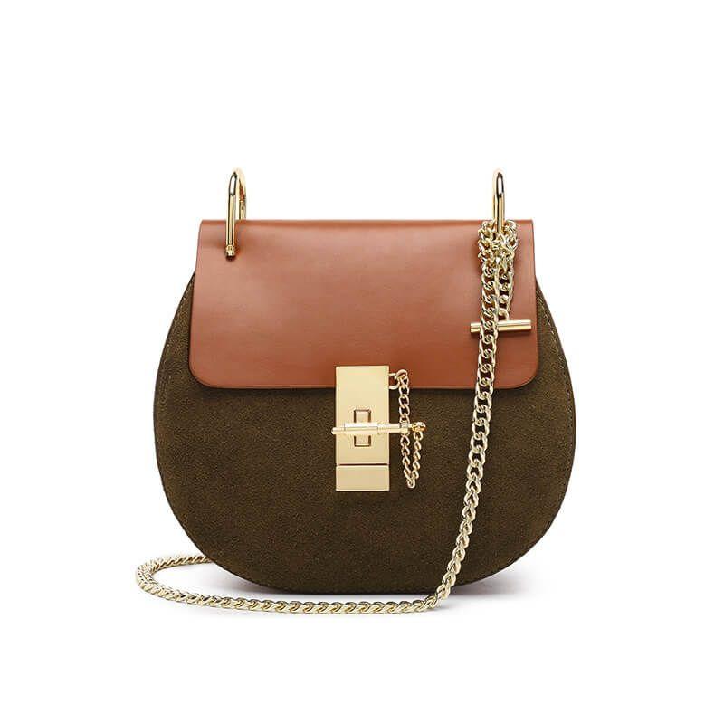 fashion cheap sale new arrival Women Cute Style Genuine Leather Crossbody Bag