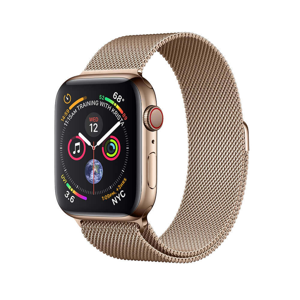 New Apple Watch Milanese Loop Band Gold