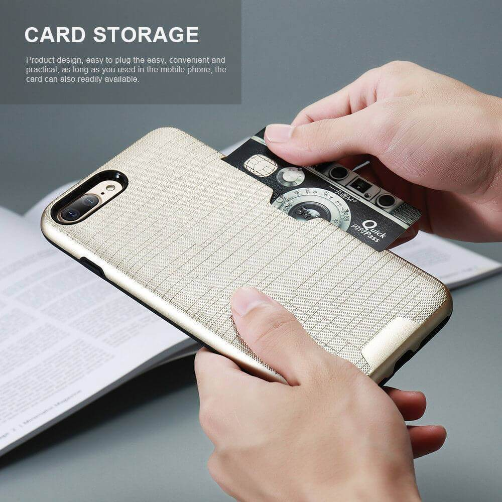 Card Slot Wallet iPhone Case