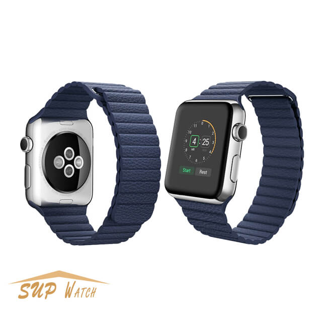 Leather Loop Band For Apple Watch Series
