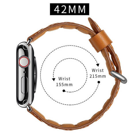 Sectional Design Apple Watch Leather Band Series 5 4 3 2 1