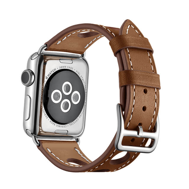 Single Tour Apple Watch Leather Band Series 4/3/2/1