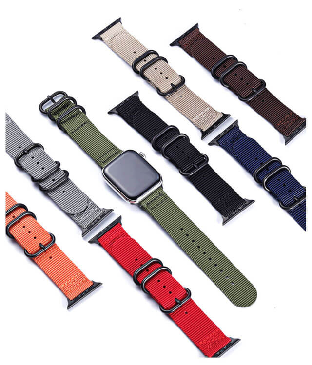 Sport Nylon Apple Watch Band Series 5/4/3/2/1