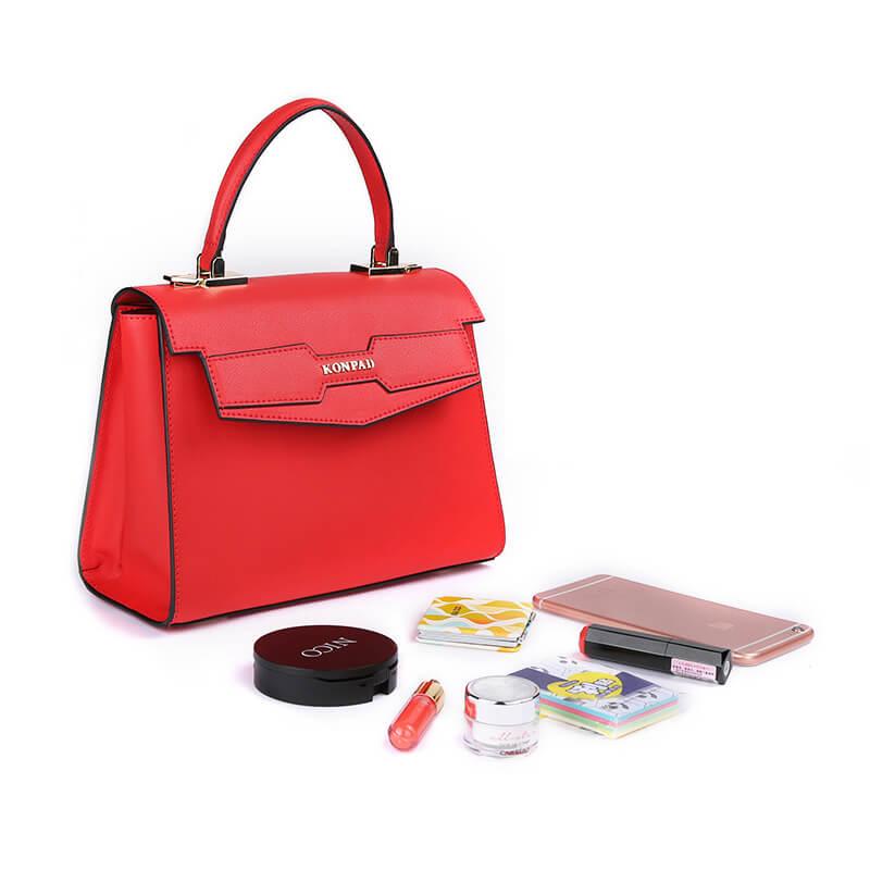 Women Genuine Leather Kelly Shoulder Bag