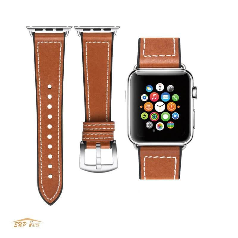 Classic Design Apple Watch Leather Band 38mm 42mm